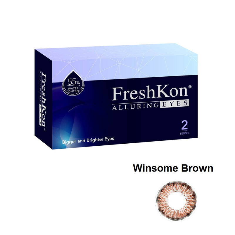 Alluring Eyes Winsome Brown Grade -100