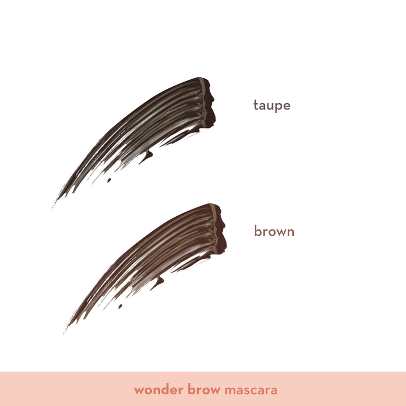 Wonder Brow Eyebrow Pencil + Mascara in Taupe - THEKULT.COM | Happy Skin