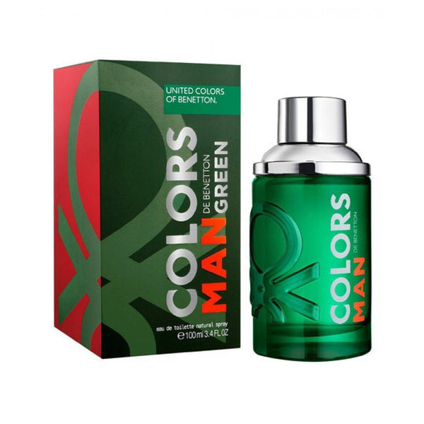 THEKULT.COM. United Colors of Benetton. Colors De Man Green Eau De Toilette 100ml