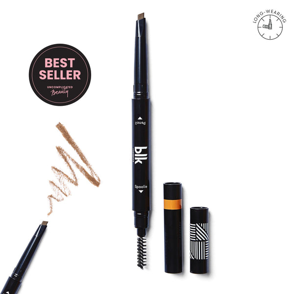Brow Sculpting Pencil Duo Taupe - THEKULT.COM | BLK Cosmetics
