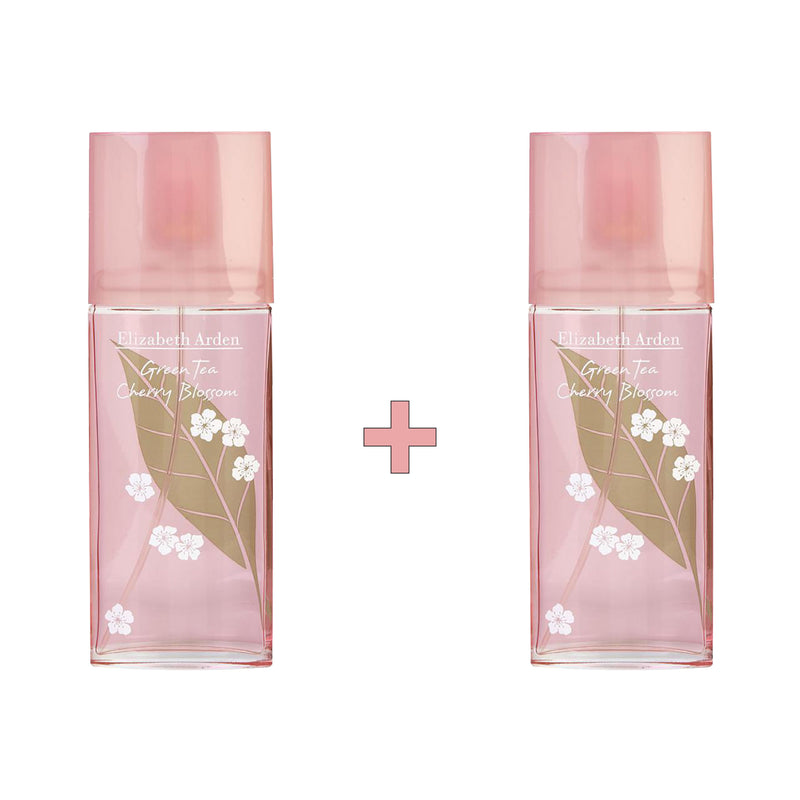 Green Tea Cherry Blossom EDT Spray Bundle