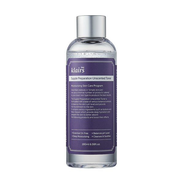 Supple Preparation Unscented Facial Toner - THEKULT.COM | Dear Klairs