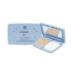 Blue Light Ready To Glow Powder Foundation - Soft Beige - THEKULT.COM | Happy Skin
