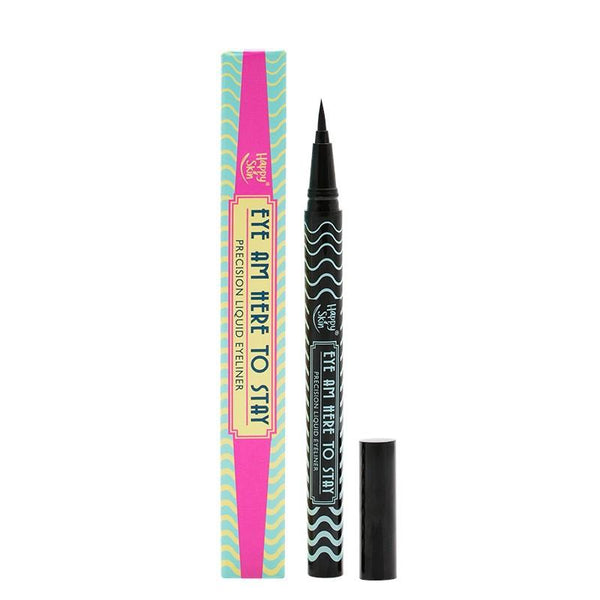 THEKULT.COM. Happy Skin. Eye Am Here To Stay Precision Liquid Eyeliner Jet Black