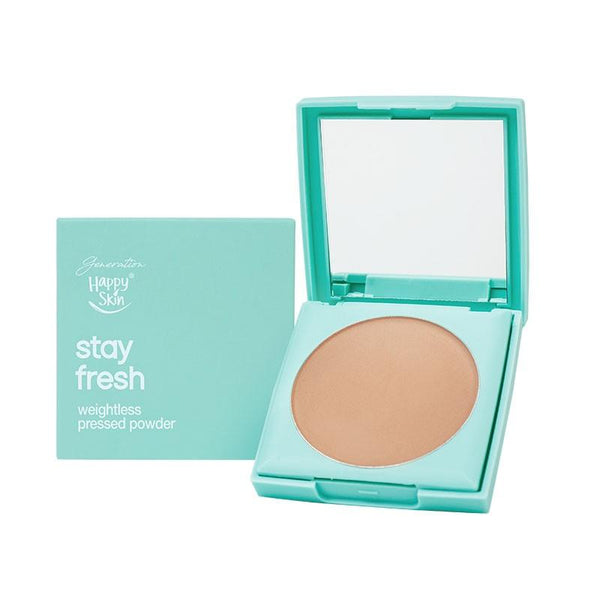 THEKULT.COM. Happy Skin. Generation Happy Skin Stay Fresh Weightless Pressed Powder Natural