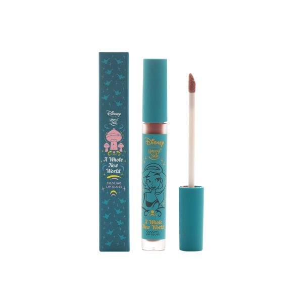 THEKULT.COM. Happy Skin. Happy Skin x Disney Cooling Lip Gloss - A Whole New World