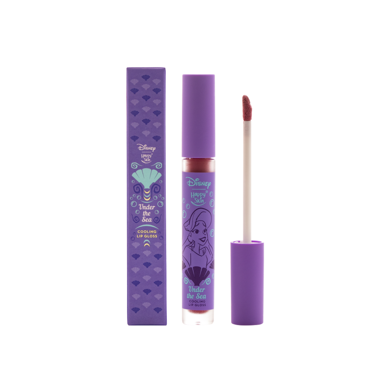 Happy Skin x Disney Cooling Lip Gloss - Under the Sea - THEKULT.COM | Happy Skin