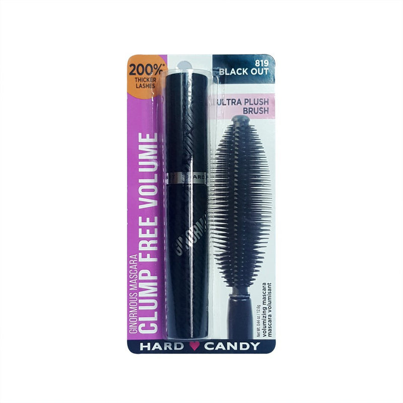 THEKULT.COM. Hard Candy. Ginormous Mascara Clump Free Volume Blackest Carbon Black 12g
