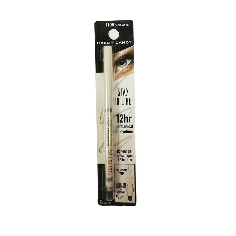 THEKULT.COM. Hard Candy. Stay In Line Pearl White Gel Eye Liner 0.3g