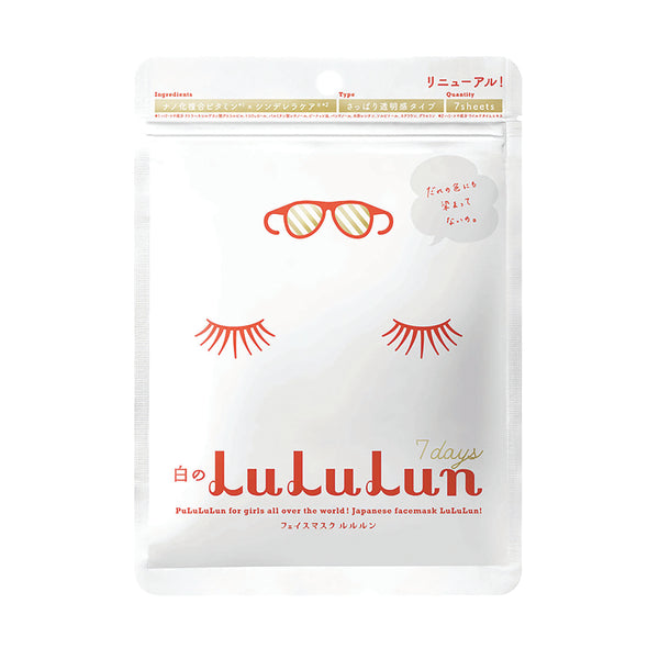 THEKULT.COM. Lululun. Whitening and Brightening (7 sheets)