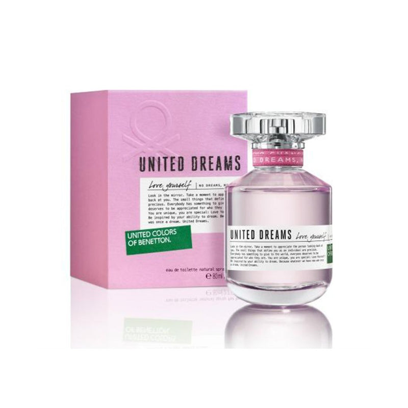 United Dreams Love Yourself EDT 80ml - Women - THEKULT.COM | United Colors of Benetton