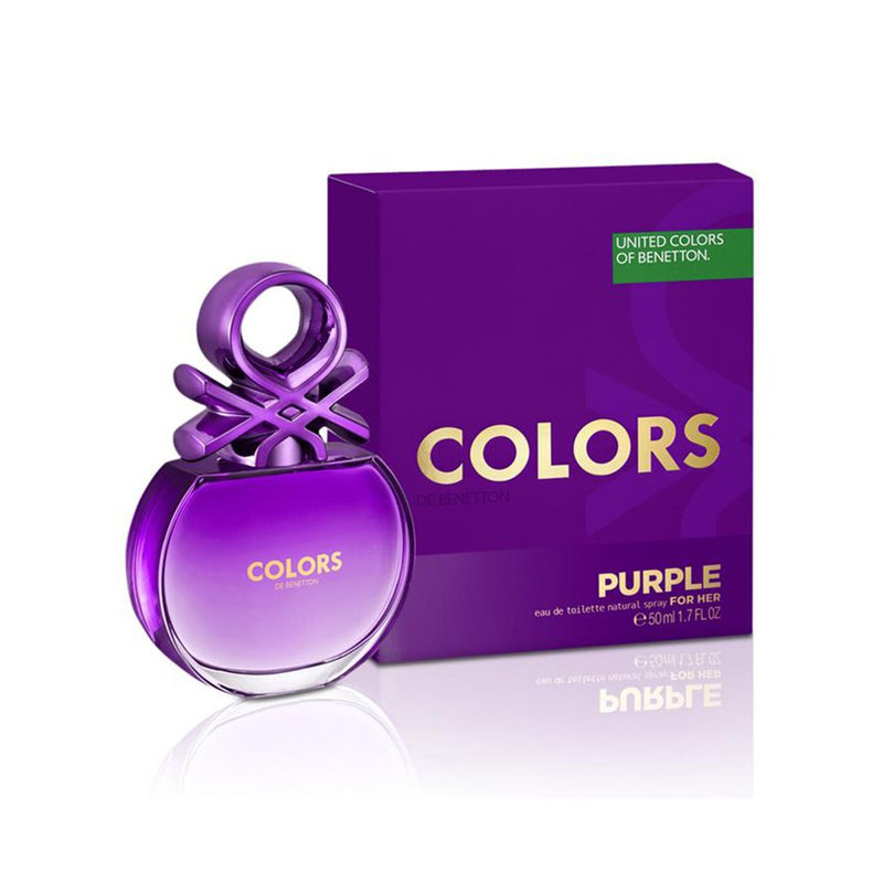 Colors De Purple EDT 80ml - Woman - THEKULT.COM | United Colors of Benetton