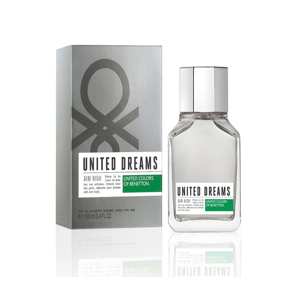 THEKULT.COM. United Colors of Benetton. United Dreams Aim High Eau De Toilette For Men 100ml