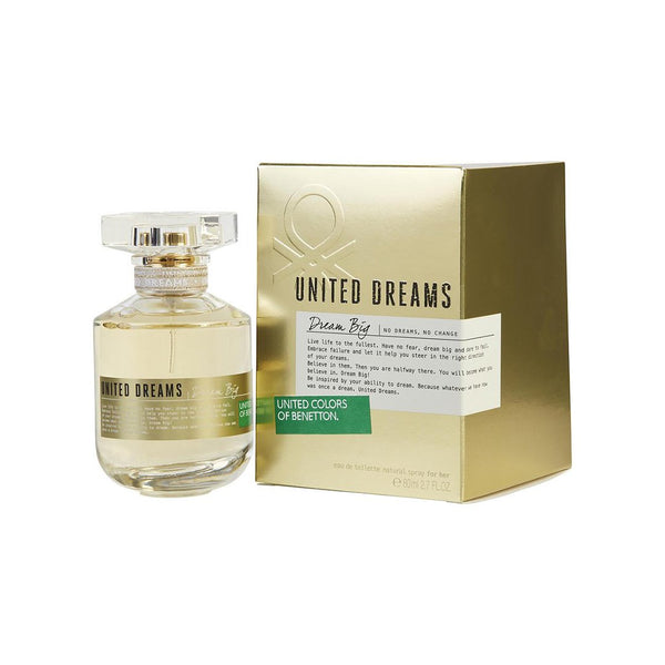 United Dreams Dream Big EDT 80ml - Women - THEKULT.COM | United Colors of Benetton