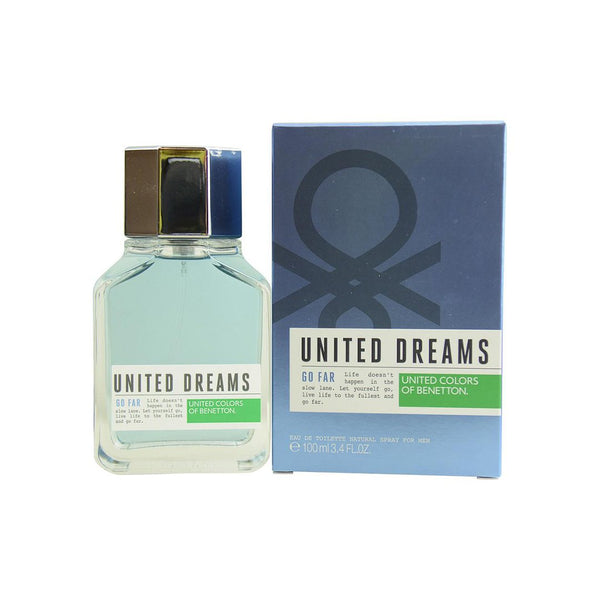 United Dreams Go Far EDT 100ml - Men - THEKULT.COM | United Colors of Benetton