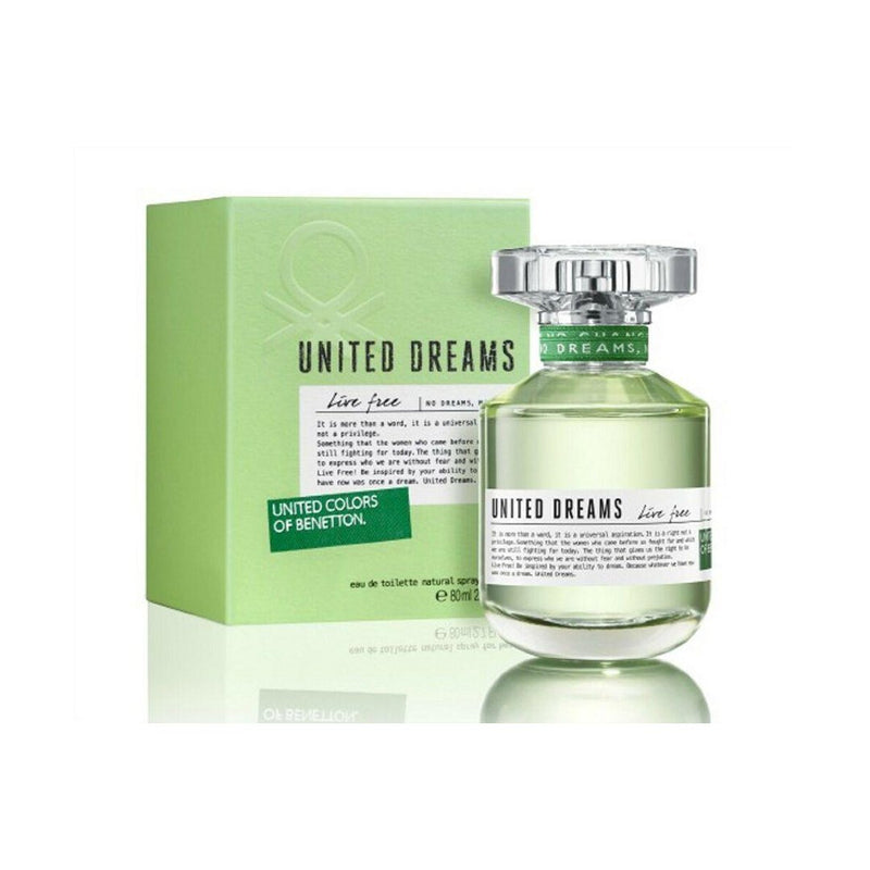 United Dreams Live Free EDT 80ml - Women - THEKULT.COM | United Colors of Benetton