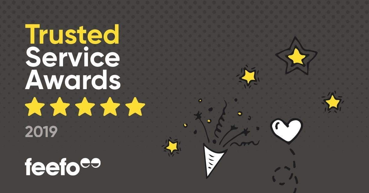 Cuffed.com.au won Feefo Award 2019