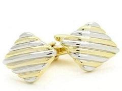 Yellow Cufflinks