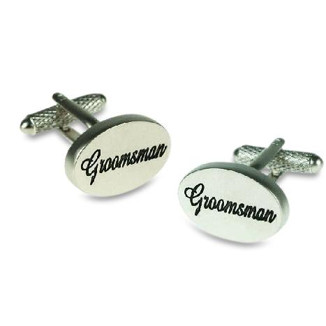 Groomsman Script Cufflinks Wedding Cufflinks Clinks Australia Groomsman Script Cufflinks