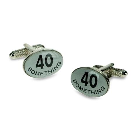 40 Something Cufflinks, Novelty Cufflinks, Cuffed.com.au, ZBC1014, $38.50