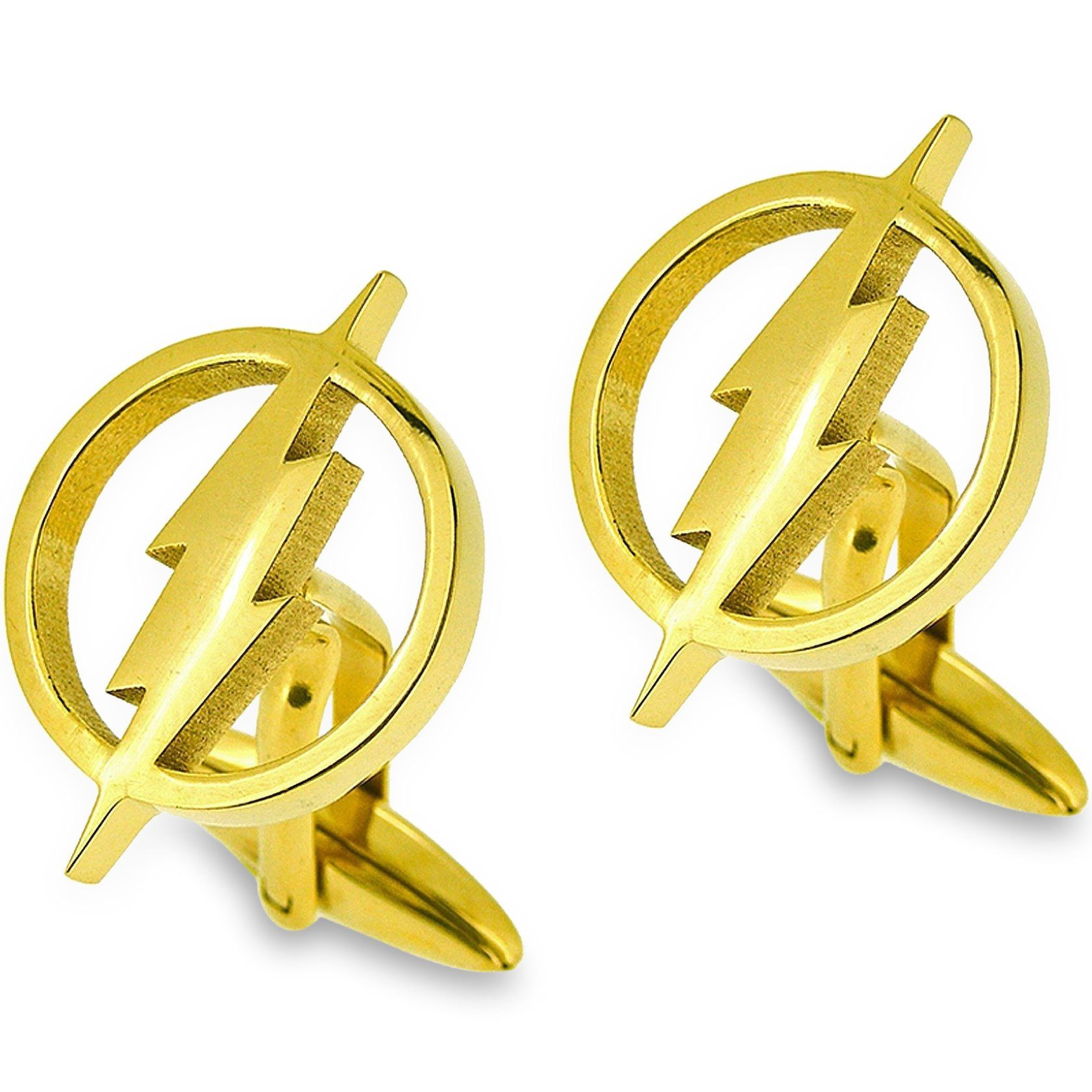 The Flash Cufflinks Gold