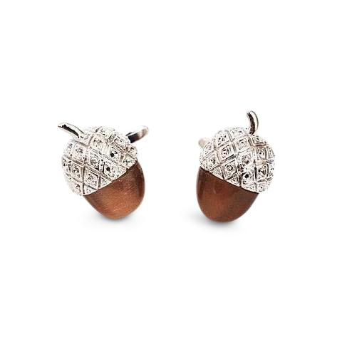 Acorn Cufflinks, Novelty Cufflinks, Cuffed.com.au, ZBC1026, $38.50