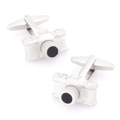 Say Cheese Silver Camera Cufflinks Novelty Cufflinks Clinks Australia Say Cheese Silver Camera Cufflinks