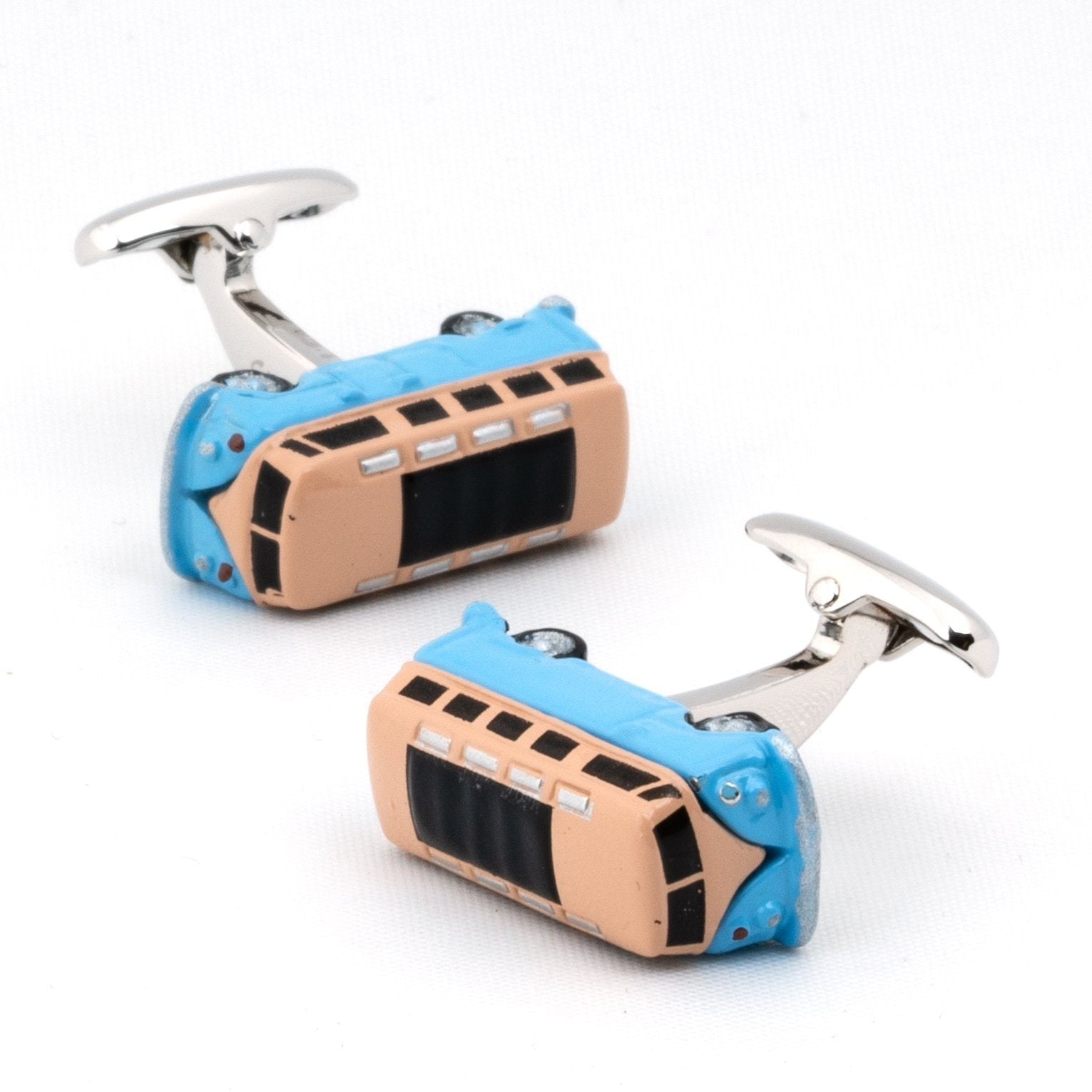 VW Kombi Van Blue Cufflinks Novelty Cufflinks Clinks Australia