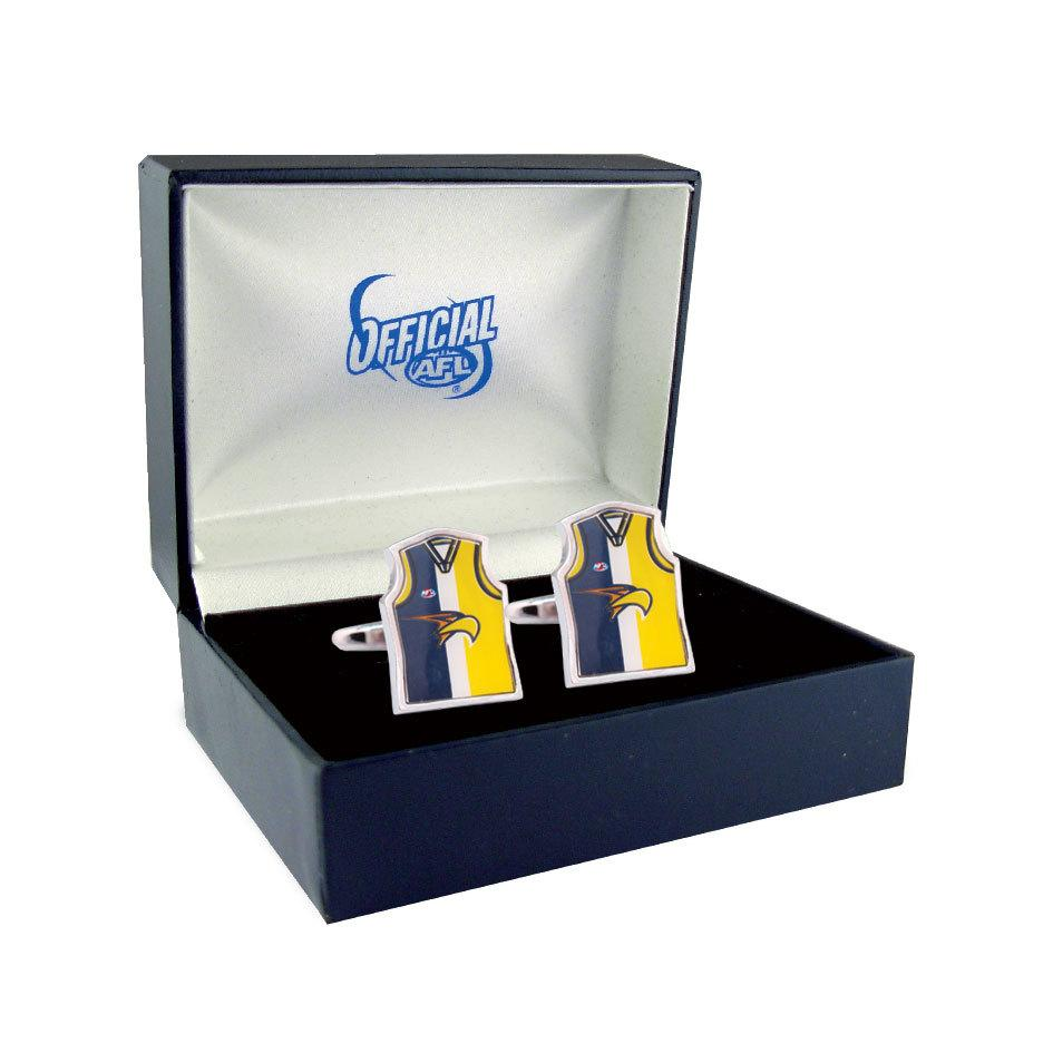 West Coast Eagles Guernsey Cufflinks