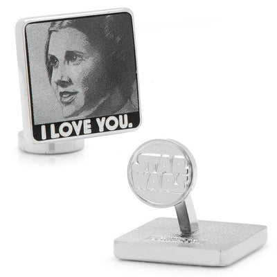 Star Wars I Love You I Know Cufflinks Novelty Cufflinks Star Wars