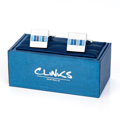 The Blues Cufflinks Classic & Modern Cufflinks Clinks Australia