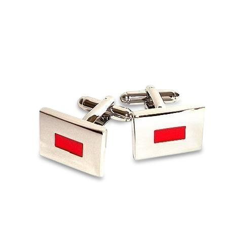 Red Letterbox Cufflinks Classic & Modern Cufflinks Clinks Australia Red Letterbox Cufflinks