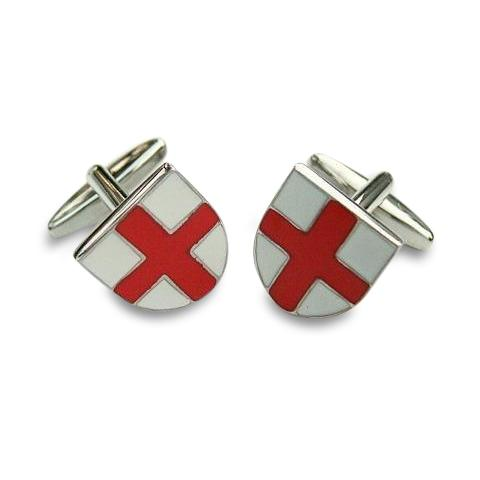St George Shield Cufflinks