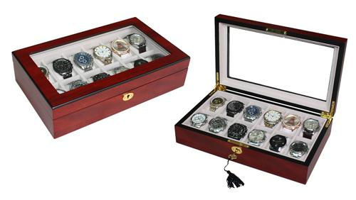 Wooden Watch Box for 12 Storage Boxes Clinks Australia Default