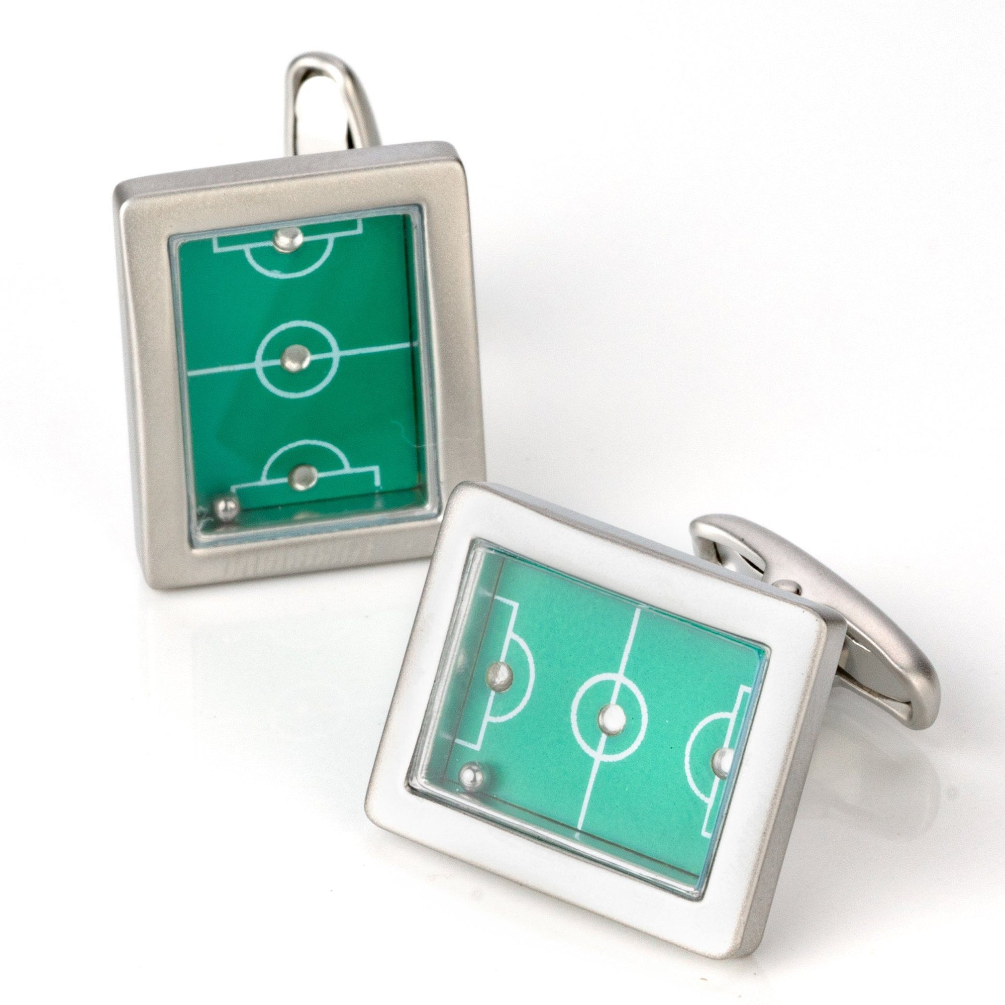 Green Soccer Field Cufflinks Novelty Cufflinks Clinks Australia