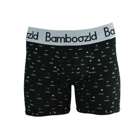 Mens Underwear Trunk - Golf Pro Underwear Bamboozld Small 80-85cm