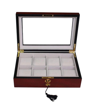 Wooden Watch Box for 8 Storage Boxes Clinks Australia