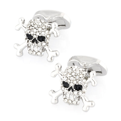 Crystal Skull Cufflinks Novelty Cufflinks Clinks Australia