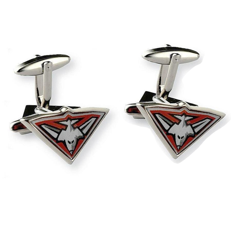 Colour Essendon Logo AFL Cufflinks Novelty Cufflinks AFL