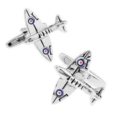 Spitfire Airplane Cufflinks Novelty Cufflinks Clinks Australia