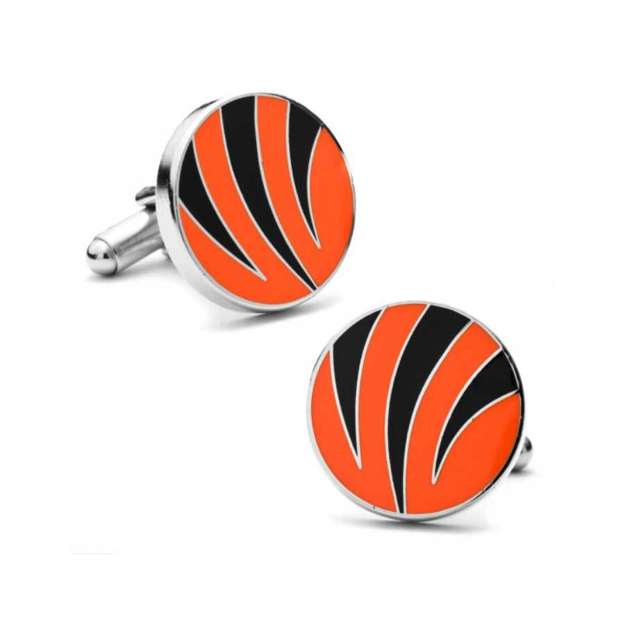 Cincinnati Bengals Cufflinks Novelty Cufflinks NFL Default
