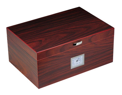 100 CT Walnut Cigar Humidor Wooden Box for Cigars Cigar Boxes Clinks Australia
