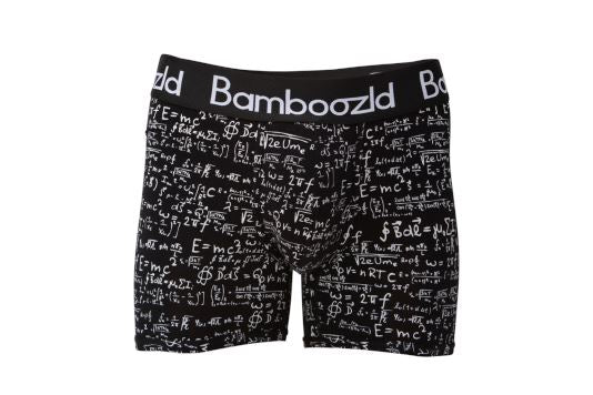 Mens Underwear Trunk - Genius Buddy Underwear Bamboozld Small 80-85cm