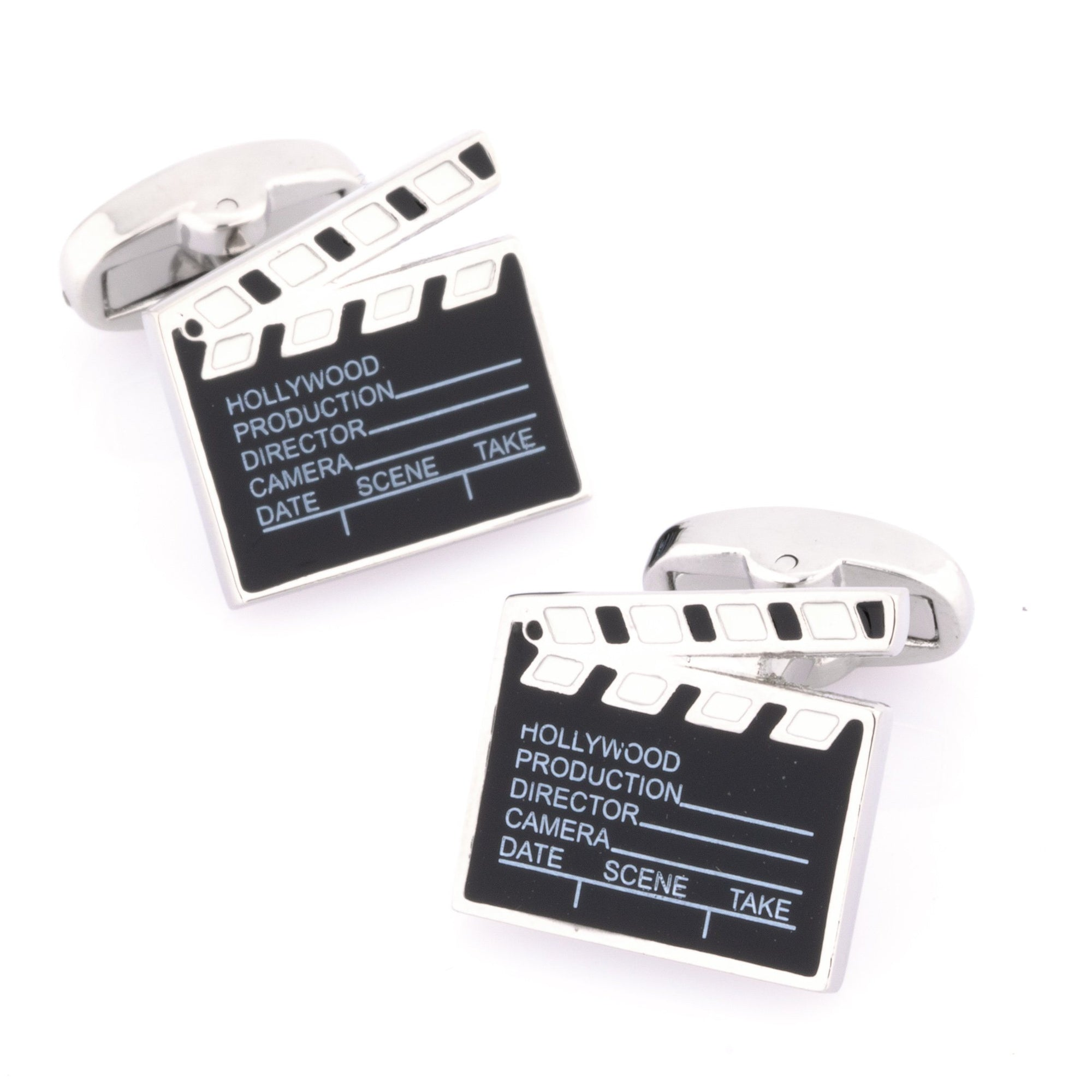 Hollywood Clapper Board Movie Cufflinks Novelty Cufflinks Clinks Australia Hollywood Clapper Board Movie Cufflinks
