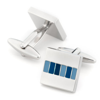 The Blues Cufflinks Classic & Modern Cufflinks Clinks Australia The Blues Cufflinks