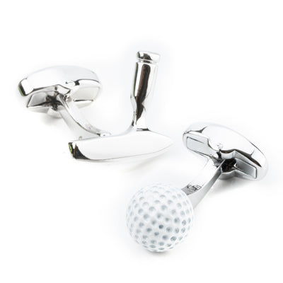 Golf Ball and Putter Cufflinks Novelty Cufflinks Clinks Australia