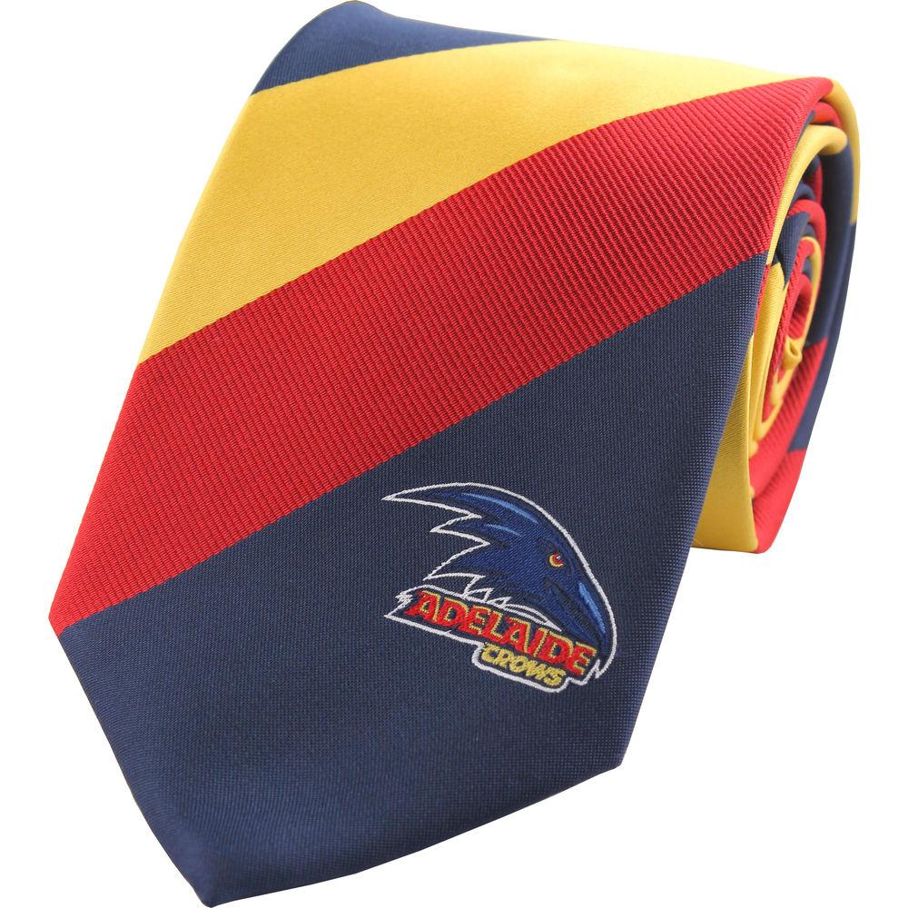 Adelaide AFL Microfibre Tie , Mens Ties , TI9014 , Cuffed , Clinks