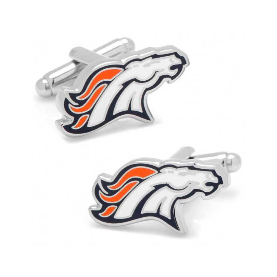 Denver Broncos Cufflinks Novelty Cufflinks NFL Default