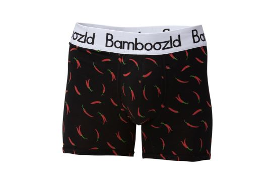 Mens Underwear Trunk - Hot Chilli Underwear Bamboozld Small 80-85cm