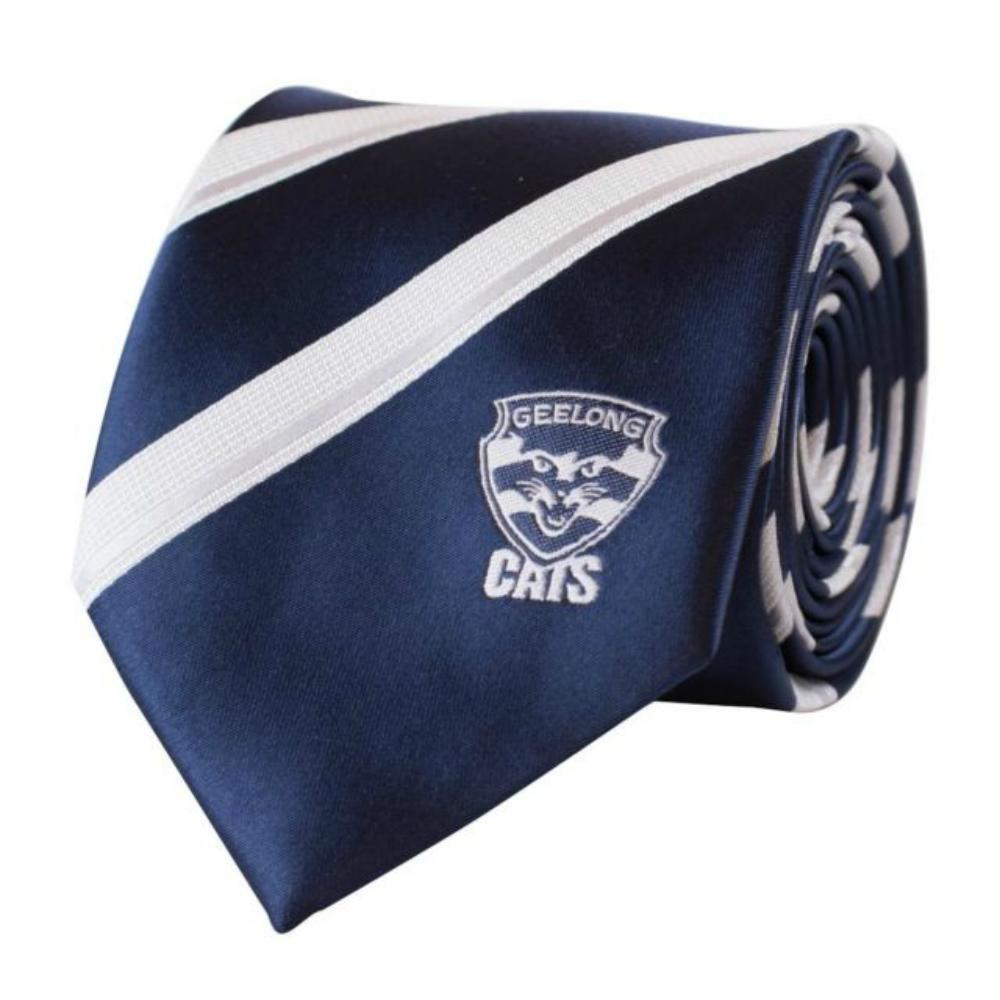 Geelong AFL Microfibre Tie Ties AFL Default